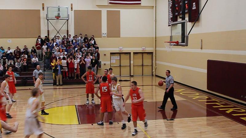 Basketball Score Foul James Stoll 3.MOV