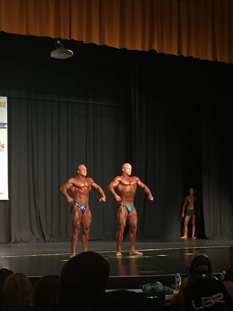 Rachell's body-building competition 2018