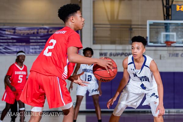 Broughton boys JV basketball vs Sanderson. February 11, 2019. 750_5758