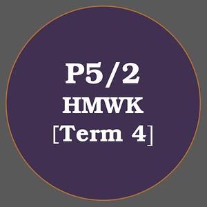 P5/2 HMWK T4