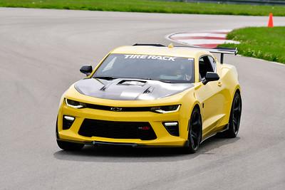 2019 SCCA TNiA May Pitt Race Yellow Camaro