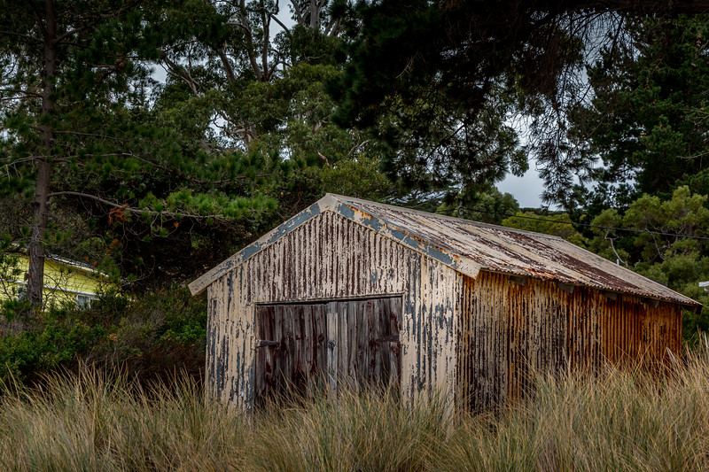 Rural shed, Tasmania