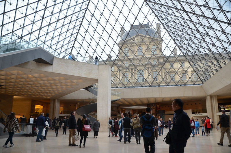 The Musée du Louvre, Paris, France - 2016