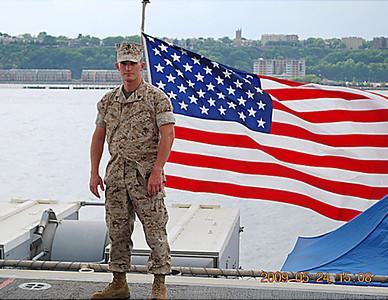 1-21-10 Westwood, NJ U.S. Marine Sgt. Christopher R. Hrbek and Westwood, NJ Firefighter