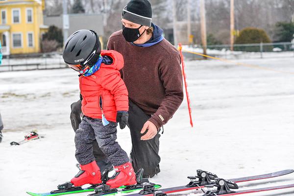 Skiing at Living Memorial Park - 011521