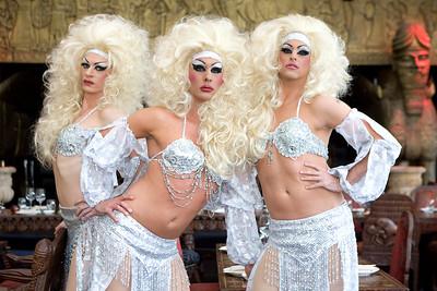 Globe Girls at Gilgamesh