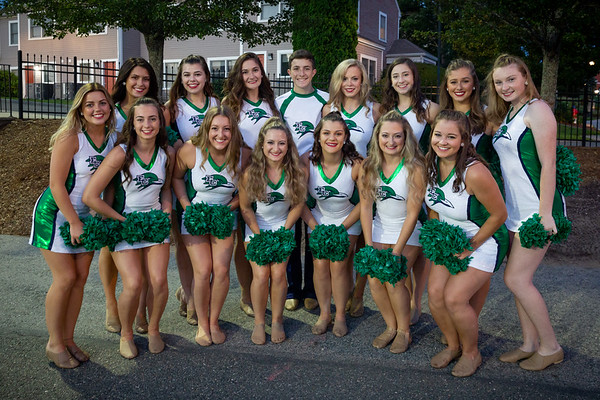 9-7-18 Dance Team - Football Game vs. Bridgewater State