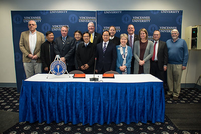 VU hosts delegation from China