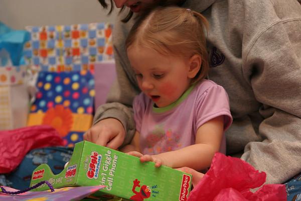 Kylee's 2nd Birthday - February 10, 2007