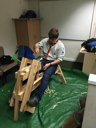 Wood Turning and Brushbots