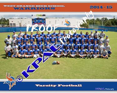 West Orange Football Team Photos 2014