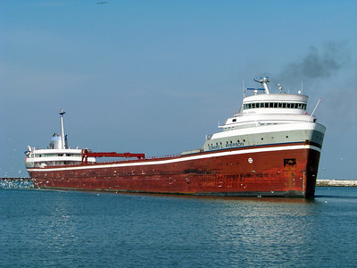 Freighters, Tugs, and Barges  on the Great Lakes