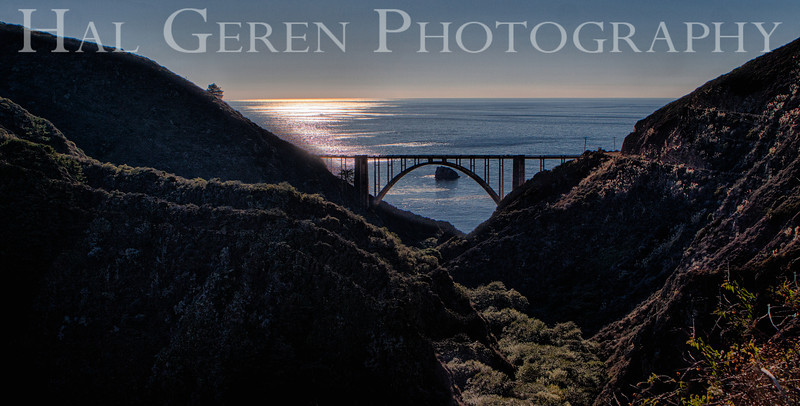 Bixby Bridge Big Sur, California 1312BS-BH1