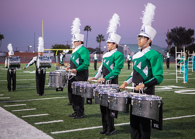 10-06-17 Mesa Band & Color Guard