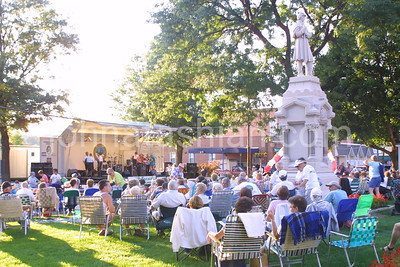 Music on the Green - August 22, 2001