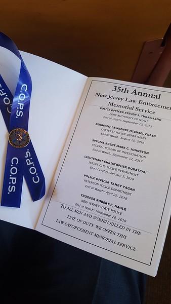 2019 Law Enforcement Memorial Service