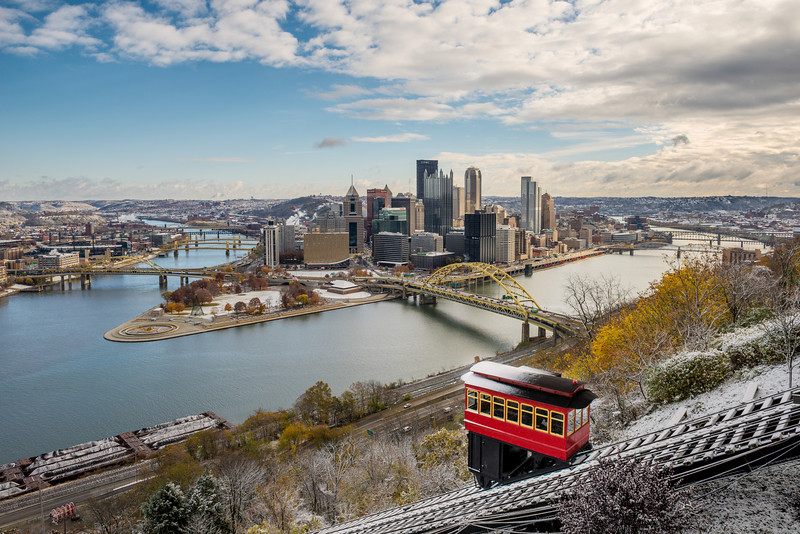 """""""Snowcap"""" - Pittsburgh, Mount Washington   Recommended Print sizes*:  4x6  