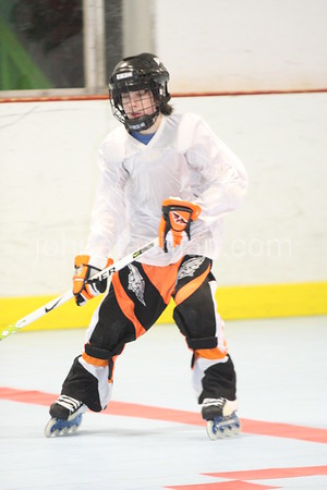 Roller Hockey - Hawks vs The Rangers - Youth Division