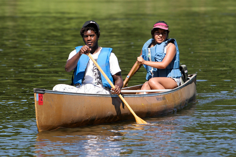 The Mississippi River Challenge brings paddlers of all ages and skill levels.  Everyone can have a great time!