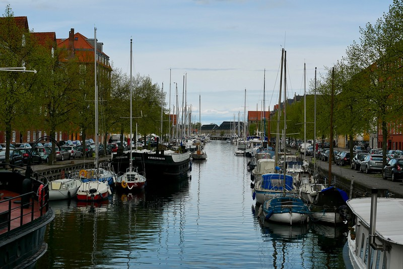 Boats in Christianshavn