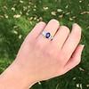 2.08ctw Sapphire and Diamond Ring, GIA No-Heat 27