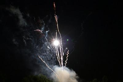 June 30th, Duke Williams race fireworks