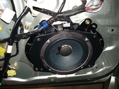 2002 Lexus SC-430 Front Door Speaker Installation