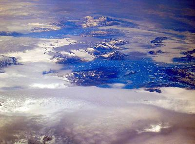 Greenland from the air