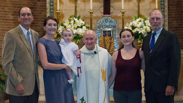 Grace's Baptism Weekend