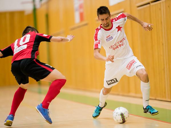 3. semifinále: Benago - Slavia 7:2