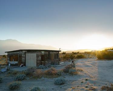 Desert Shack Sundown