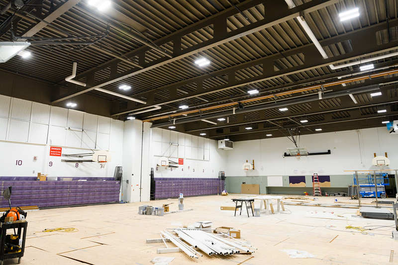 Judson Middle School under construction on Friday, August 16, 2019, in Salem, Ore.