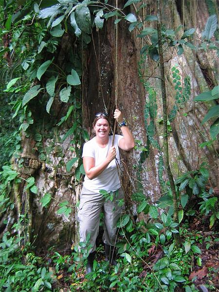 Jane! Tortuguero, Costa Rica.