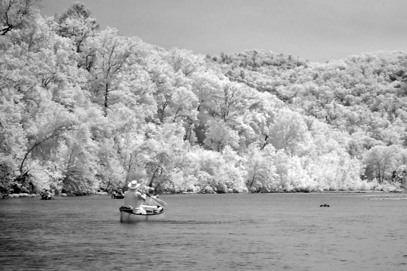 Infrared shot of the river. I loved how these came out, so there are a lot in the gallery.