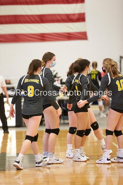 Galesburg Girls Volleyball 2021