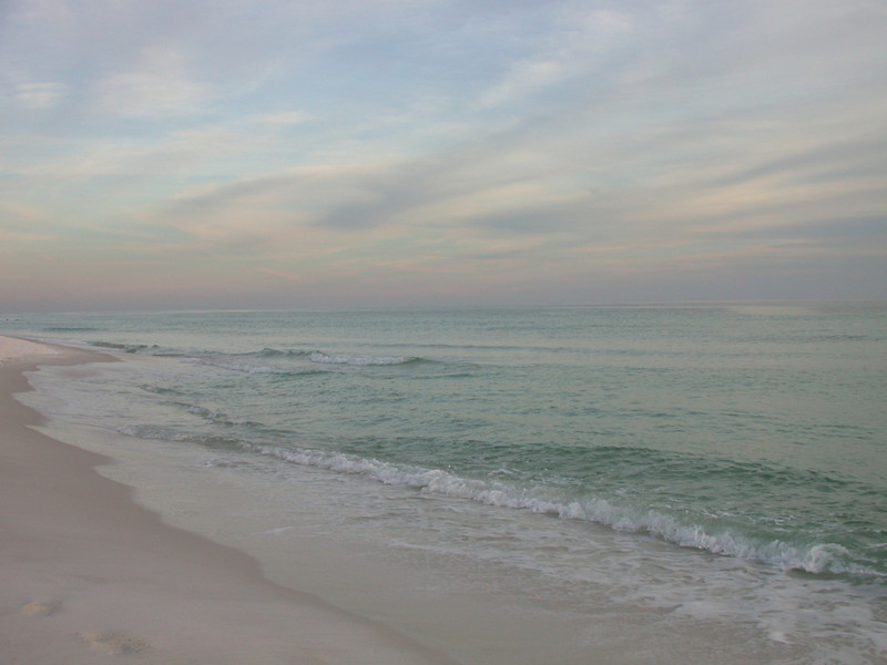 January - Pensacola Beach, Florida