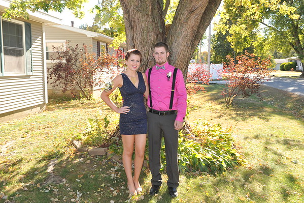 Mike & Katy Homecoming 2015