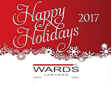 15-12-2017 ~ Wards Lawyers Holiday Party