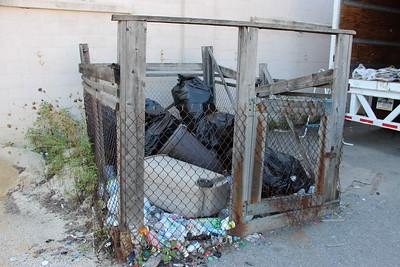 Boy Cub Scout Recycle Drop Off Location, next to Tamaqua Borough Garage, Tamaqua (8-27-2014)
