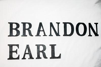 Brandon Earl Logo Letters