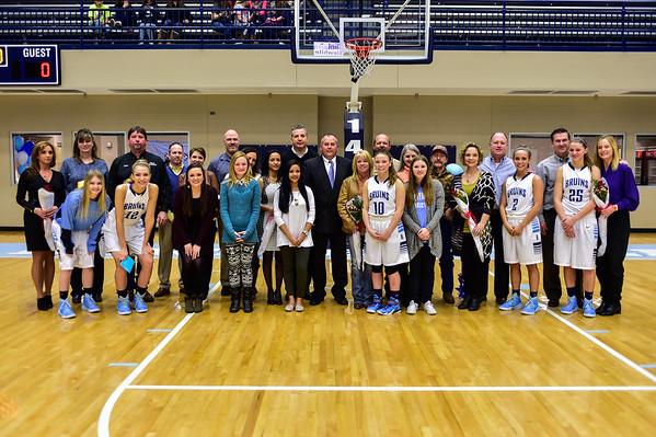 2015 Bartlesville Bruin Basketball Senior Night