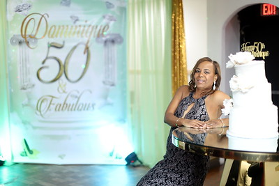DOMINIQUE FABULOUS 50TH BIRTHDAY CELEBRATION