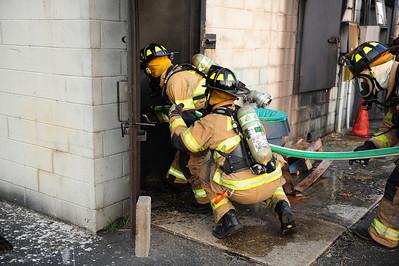 Springfield, Live Burn Drill - 2011