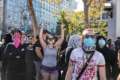 Oct 17 San Francisco Counter-Protest against Far-Right Rally