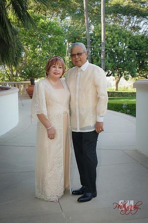 DANTE & ELLEN'S 50TH WEDDING ANNIVERSARY
