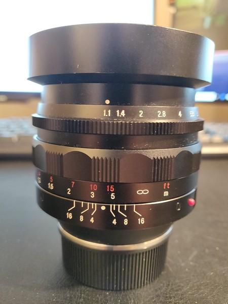 Voigtländer Nokton 50 mm 1.1 - Serial 8010620 001.jpg