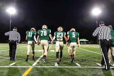 2018-10-06 Varsity Football VS Dons - Senior Night