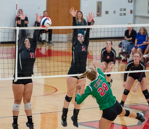 Yorkville volleyball - Sept. 4, 2018