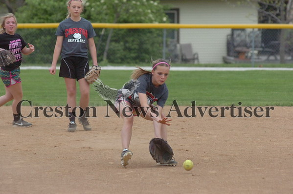05-22 Creston softball practice