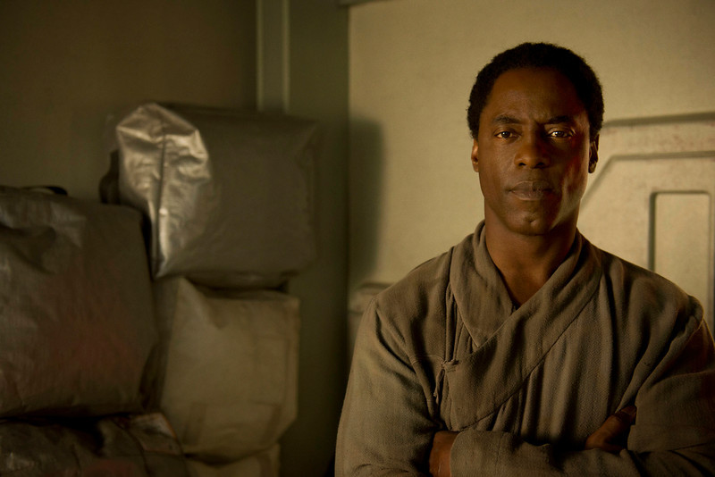 . The 100 -- Pictured: Isaiah Washington as Chancellor Jaha (Photo by Cate Cameron/The CW)